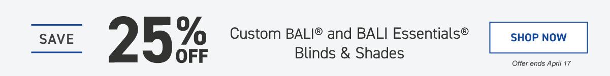 b91356ad9bc Shop Custom Bali Blinds   Shades at Lowe s